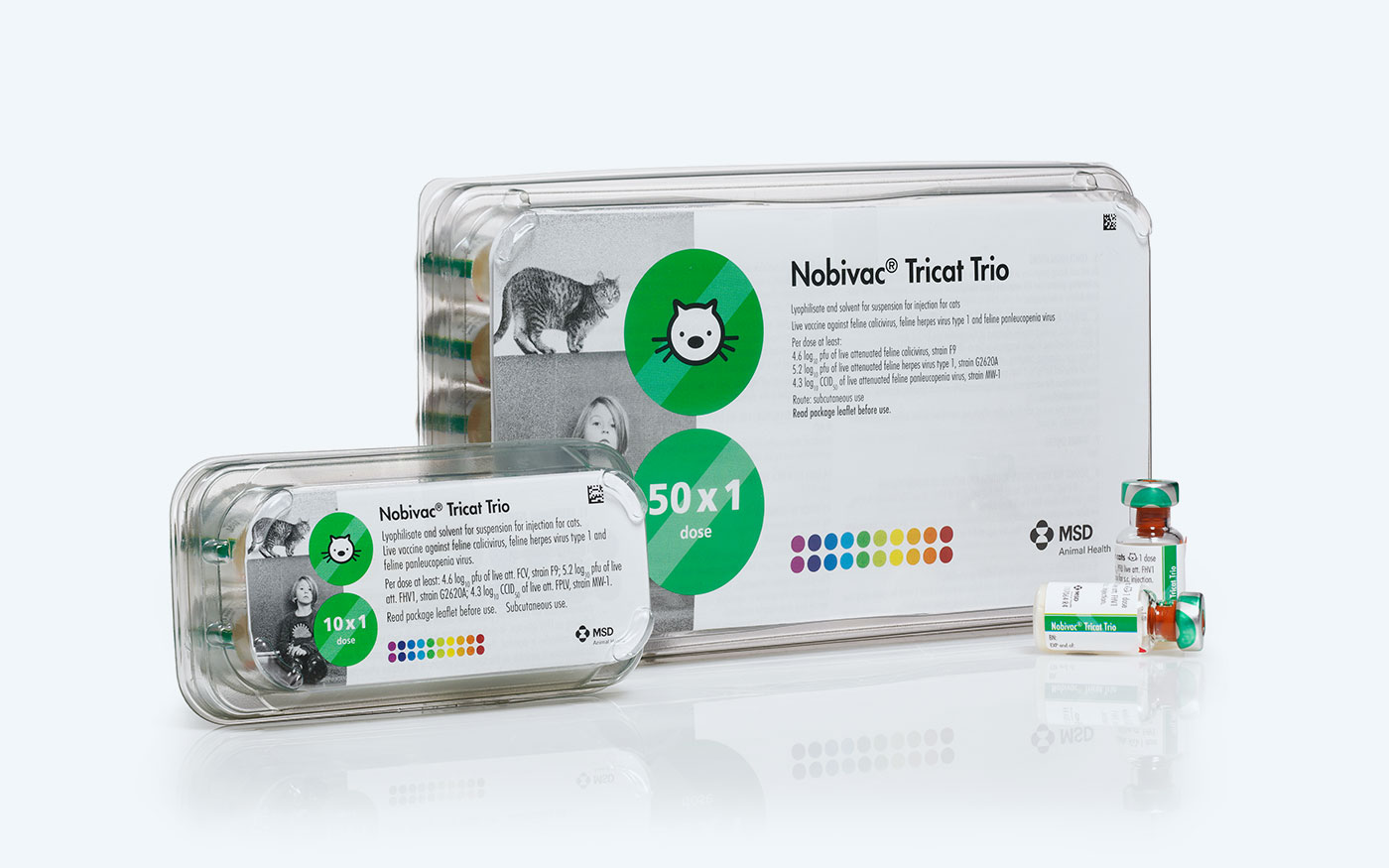Nobivac packaging by A plus M